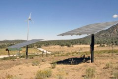 Renewable Energy Sources on the Ranch - Windmills and Solar Panels