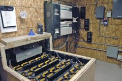 Renewable Energy Sources on the Ranch - Panel Batteries